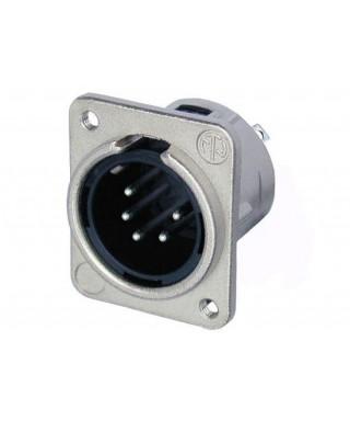Panelový konektor XLR - 5 pin - samec